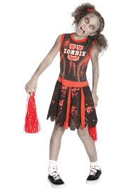 undead zombie university cheerleader child costume halloween at