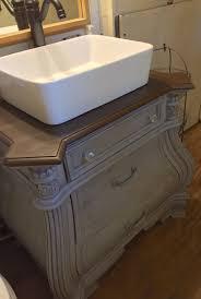 Silver Bathroom Vanities Diy Nightstand To Bathroom Vanity I Used Waverly Chalk Paint In