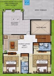 Floor Plan For 30x40 Site by 40 X 80 House Plans Arts