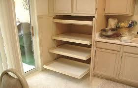 Kitchen Cabinet Rolling Shelves Furniture Sliding Pantry Shelves Install Sliding Shelves Pantry