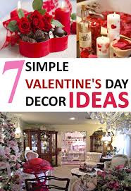 7 simple valentine u0027s day decoration ideas styles of living