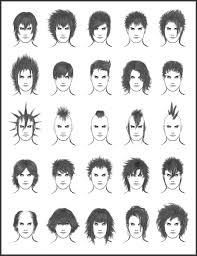 men u0027s hair set 7 different hairstyles for boys character