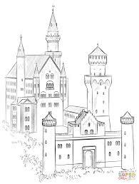 castle coloring pages 2660