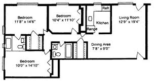 1100 sq ft house floor plans