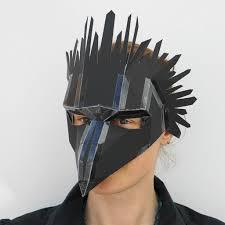 crow mask halloween bird mask wintercroft