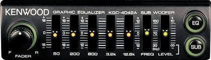 kenwood kgc 4042a equalizer at crutchfield com
