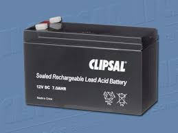 clipsal alarm system battery for battery backup 5460 12 7b buy