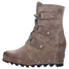 s boots wedge sorel s joan of arctic wedge mid boots sports