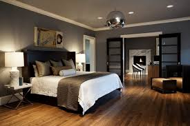 make a huge different looks in the bedroom designs with grey color