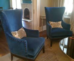 Navy Blue Leather Club Chair Awakening Woman Blog Low Profile Accent Chairs Accent Chairs