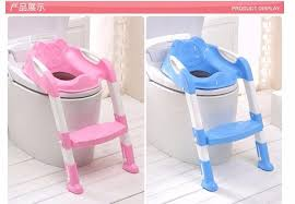 Potty Chairs Baby Children Kids Boys Girls Potty Seat With Ladder Cover Toilet