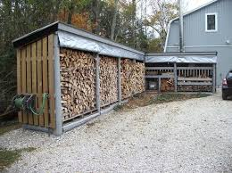 firewood storage rack for cleaner and safer burning firewood