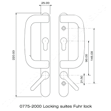 Jeld Wen Patio Door Replacement Parts by Patio Door Handle Door Handle Privacy With Keyed Mortise Lock