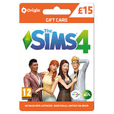 15 gift cards buy the sims 4 15 gift card on top ups free uk delivery