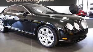 bentley continental gt review 2017 2006 bentley continental gt mulliner gloss black lc274 youtube