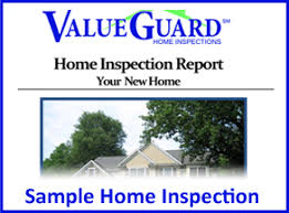 sample house inspection report sample home inspection reports valueguard
