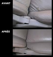reparation siege cuir voiture olympique esthétique automobile réparation de cuir tissus vinyle