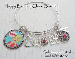 Birthday Charm Bracelet 18th Birthday Charm Etsy