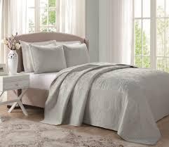 Laura Ashley Twin Comforter Sets Laura Ashley Sage Green Floral Stitched Bedspread Bq9867sgqn 4449