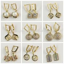 different types of earrings factory direct prices different types high quality zircon diamond
