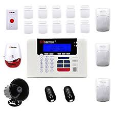 pisector 4g cellular gsm wireless security alarm