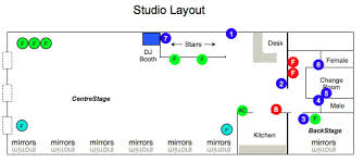 Dance Studio Floor Plan Studio Hire U2013 The Latin Ballroom