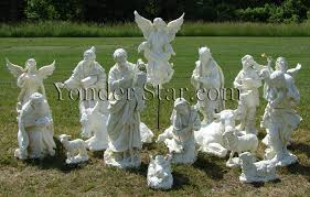 outdoor nativity set josephs studio 14 pieces yonder