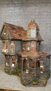 Sweet Coffee Shop France Style Diy Doll House 3d Miniature Would Make An Awesome Lemony Snicket Count Olaf House Greggs