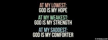 He Is My Comforter Facebook Cover Photos My Bible