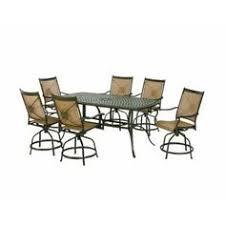 Tall Patio Set by Hampton Bay Westbury 9 Piece Patio High Dining Set S9 Adq27112 At