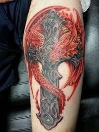 tattoo cross dragon best ideas about celtic dragon tattoos on pinterest celtic dragon