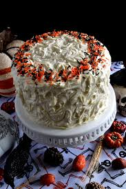 How To Make A Halloween Pumpkin Cake by Halloween Pumpkin Cake With Cream Cheese Frosting Lord Byron U0027s