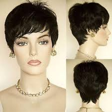short hairstyle wigs for black women fashion short black african american wig for black women pixie cut