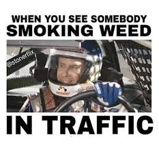 Super Bowl Weed Meme - driving high meme tumblr