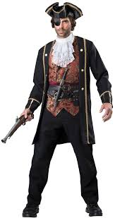 Captain Halloween Costume Quality Pirate Costume Loot 115 Price