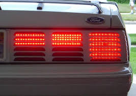 93 mustang lx tail lights 83 93 mustang led tail lights sequential