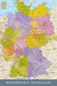 map of deutschland germany bundesrepublik deutschland germany map in german language maxi
