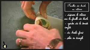 recettes de julie andrieu cuisine les recettes de julie andrieu feuilles de brick au chèvre