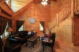beautiful log home interiors interior fancy image of log cabin homes interior living room