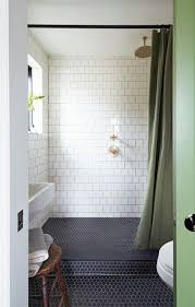39 stylish hexagon tiles ideas for bathrooms digsdigs
