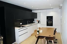 deco cuisine et blanc decoration noir et blanc deco cuisine noir deco cuisine et