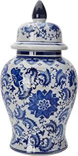 Spode Vases Amazon Com Spode Blue Italian Hexagonal Vase Home U0026 Kitchen
