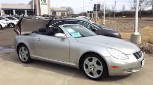 used lexus hardtop convertible 2004 lexus sc430 convertible youtube