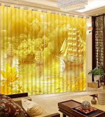 Modern Living Room Curtains by Online Buy Wholesale Curtains Yellow From China Curtains Yellow