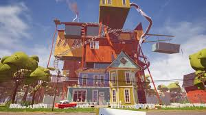 home design game neighbors how to get the red key and unlock the basement in hello neighbor