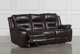 Best Reclining Sofas by Wayne Power Reclining Sofa W Usb Living Spaces