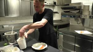 Esszimmer Michelin Star Jan Tournier Prepares A Dessert With Carrots At The Michelin Star