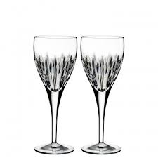 wine glasses waterford white wine glasses sets waterford
