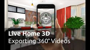 Home Design 3d Export by Live Home 3d Tutorials Creating 360 Videos Youtube