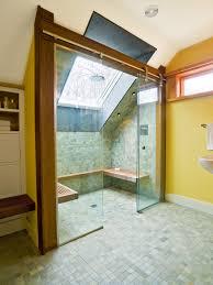 window alcove ideas bathroom contemporary with shower bench window